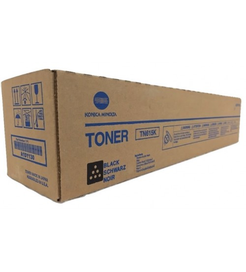 Konica Minolta TN-615K Toner Cartridge - Black